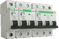АВ2000 2А (1p, 2p, 3p), 6-10 кА, aвтоматический выключатель Промфактор