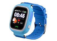Детские GPS часы UWatch Baby Q90 Blue (УЦЕНКА) (не работает сенсор)