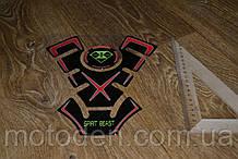 Наклейка на бак мотоцикла 200*230мм Spirit Beast (Варіант 1)