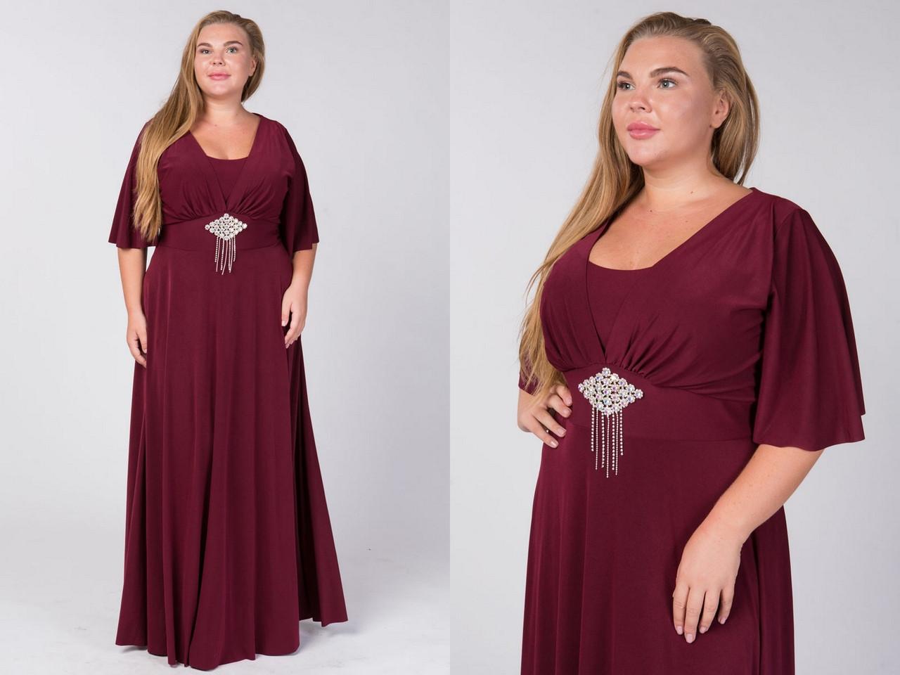 Красивое женское платье в пол с завышенной талией и коротким рукавом 50-56(уни)р