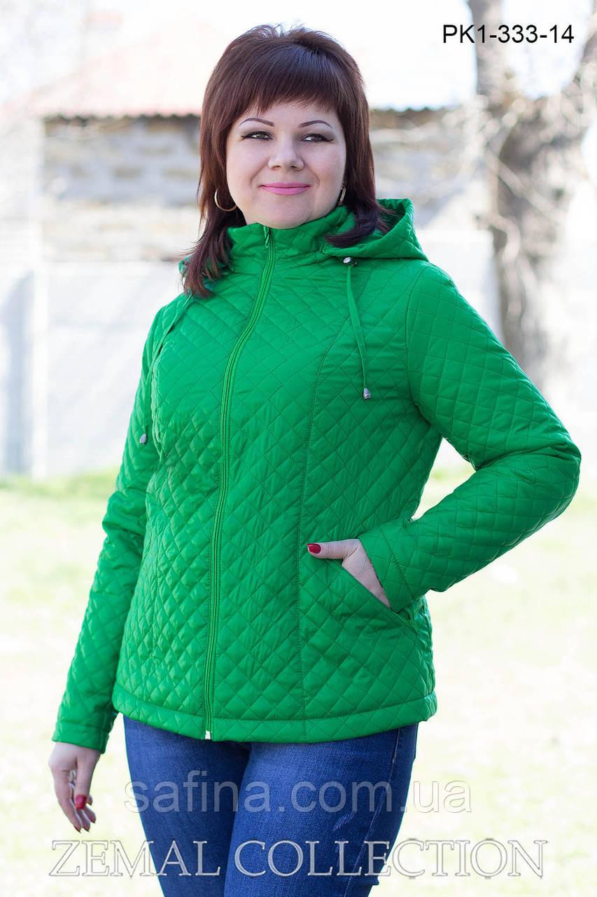 Куртка из стеганной плащевки PK1-333