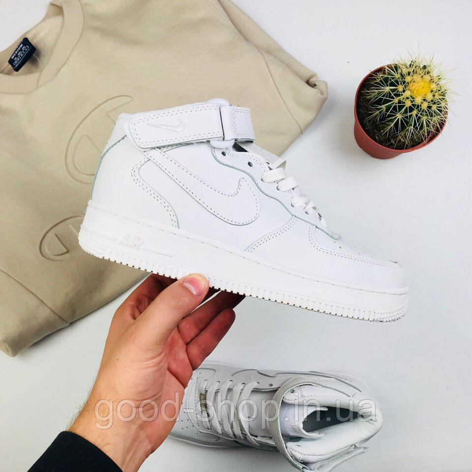 750a55d8 Женские кроссовки Nike Air Force 1 white