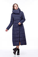 Самая модная зимняя куртка-пуховик до пяток, очень теплая размеры 42-54