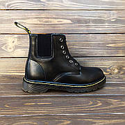 Мужские кожаные ботинки/челси в стиле Dr. Martens 101 Gusset