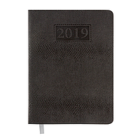 Ежедневник датированный 2019 AMAZONIA, A5, черный 2114-01 , фото 1
