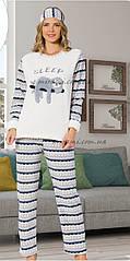 Теплые пушистые пижамы, р-р XL