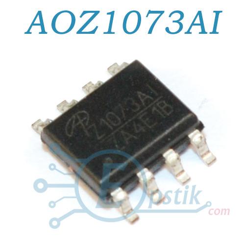 AOZ1073AI, DC-DC преобразователь, 4.5-16В 3A, 500KHz, SOP8