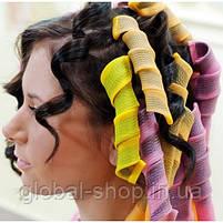 Бигуди HAIR WAVZ (Хейр Вейвз) , бигуди для завивки, фото 6