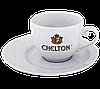 Нанесение лого на чашку с блюдцем