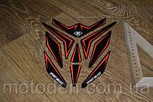 Наклейка на бак мотоцикла 200*230мм Spirit Beast (Варіант 4)