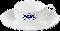 Нанесение логотипа на чашку с блюдцем