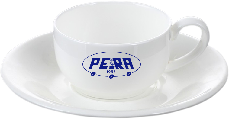 Нанесение логотипа на чашку с блюдцем, фото 2