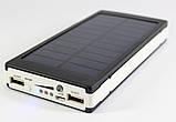 Power Bank 90000 mAh с солнечной батареей и Led панелью, фото 2