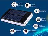 Power Bank 90000 mAh с солнечной батареей и Led панелью, фото 3