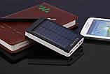 Power Bank 90000 mAh с солнечной батареей и Led панелью, фото 4