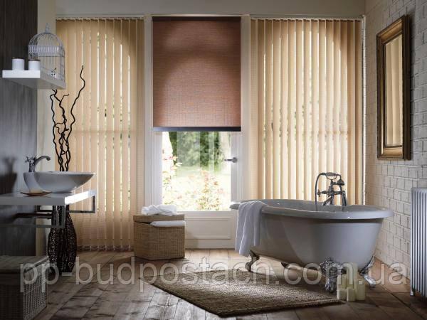 Рулонні штори у ванній
