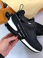 Модные женские кроссовки LOUIS VUITTON RUN AWAY (реплика), фото 1