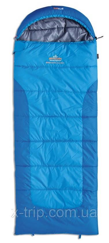 Спальный мешок Pinguin Blizzard Синий, Правая