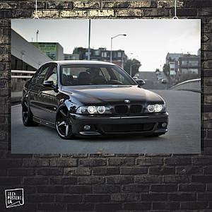 Постер Авто, BMW E39 (60x85см)