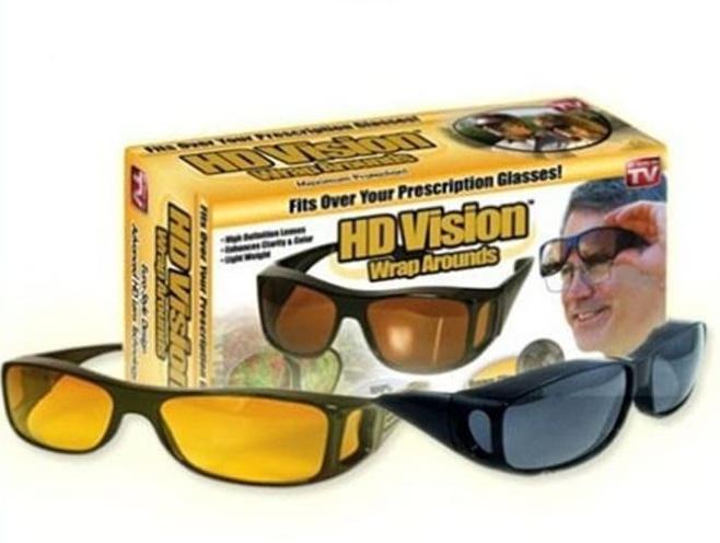 Очки HD Vision антибликовые очки. Очки для водителей 2 шт.