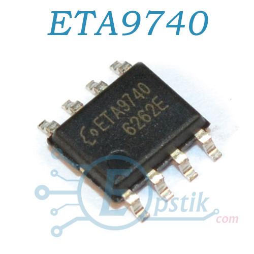 ETA9740, контроллер заряда, 4.2В 3А, SOP8
