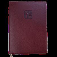 Ежедневник датированный 2019 BRAVO (Soft), A4, коричневый 2740-25 , фото 1