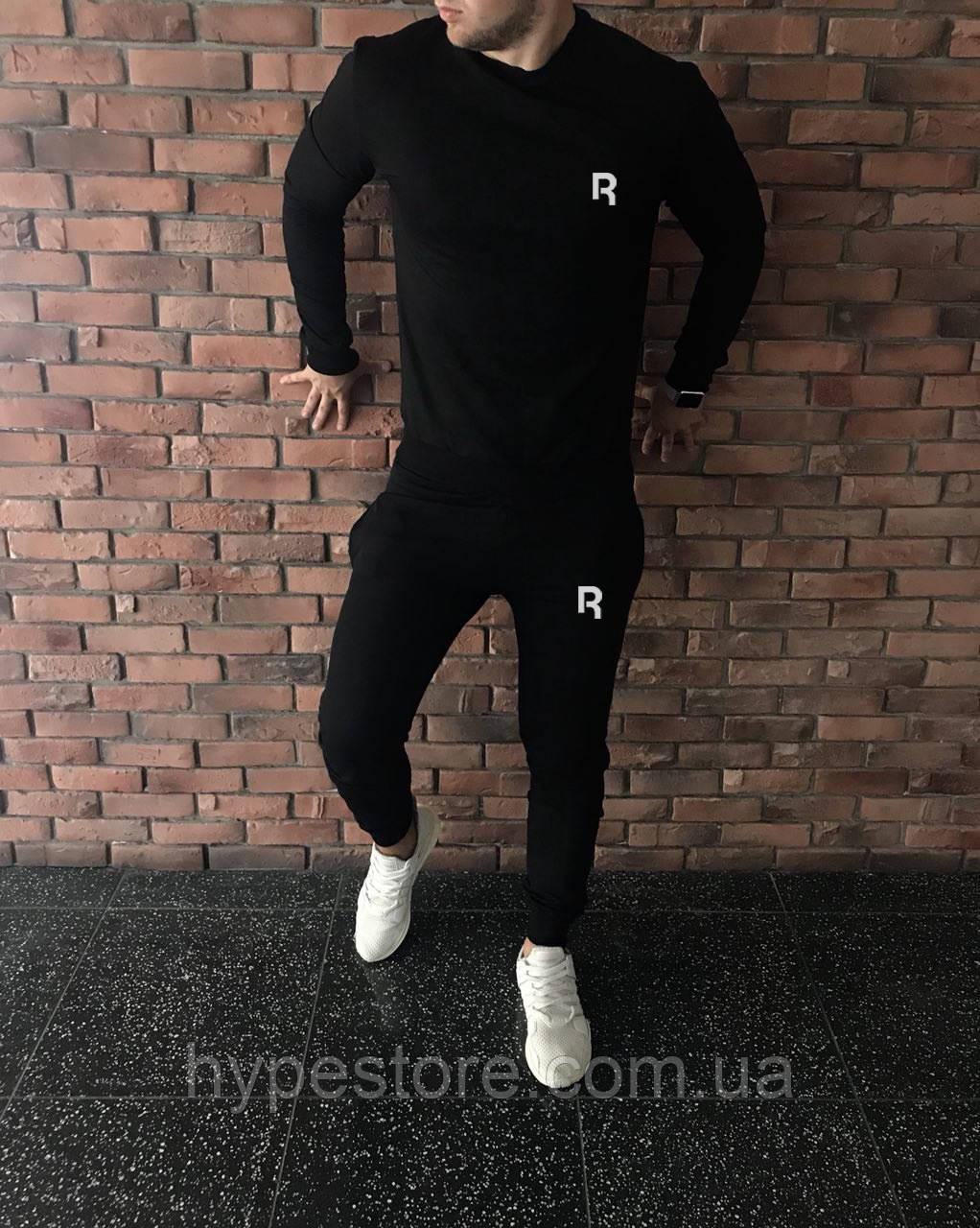 Трикотажный спортивный костюм, чоловічий спортивний костюм Reebok, Реплика