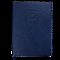 Ежедневник датированный 2019 BRAVO (Soft), A4, синий 2740-02 , фото 1