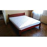 Двоспальне ліжко в спальню з натурального дерева  Дональд Дрімка, фото 3