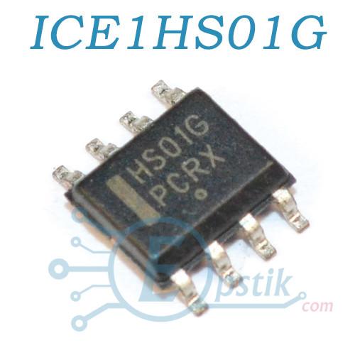 ICE1HS01G, полумостовой резонансний ШІМ-контролер, SOP8