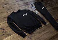 Трикотажный спортивный костюм, чоловічий спортивний костюм UFC, ЮФС, Реплика