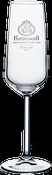 Нанесение логотипа на бокал