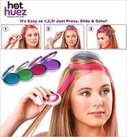 Мелки цветная пудра для волос HOT HUEZ