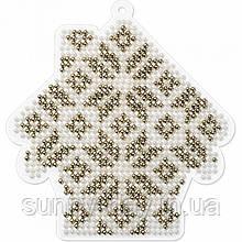 Набір для вишивання бісером на пластиковій основі FLPL-008