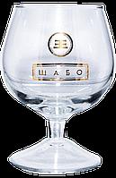 Нанесение логотипа на бокал для коньяка