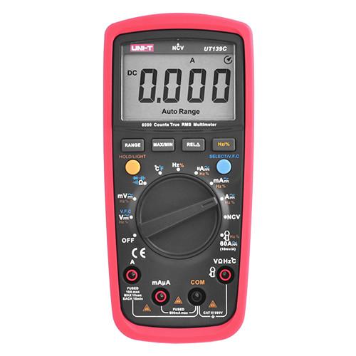 Мультиметр UNI-T UT-139C цифровой