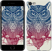 """Чехол на iPhone 7 Сова 2 """"2726c-336-5948"""""""