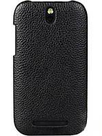 Чехол-накладка Melkco Snap для HTC One SV C520e чёрный