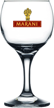 Нанесение логотипа на бокал для вина