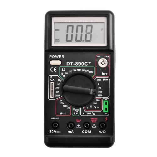 Цифровий професійний мультиметр DT - 890C тестер