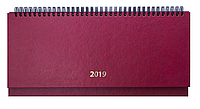 Планинг датированный 2019 STRONG, бордовый 2598-13 , фото 1