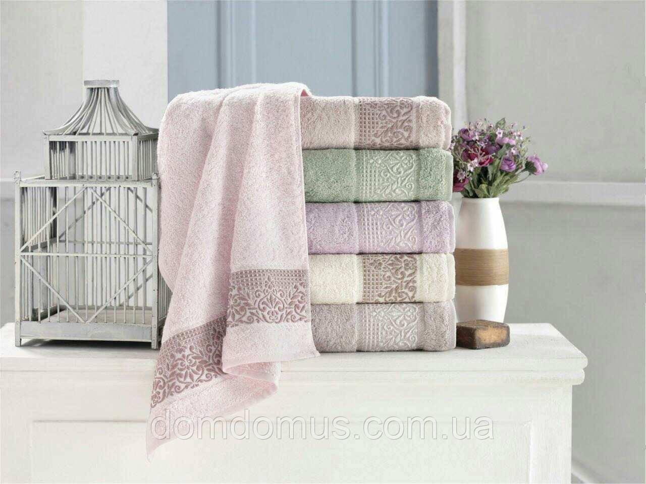 "Махровое полотенце ""Vip Bambo"" 90*150 (100% бамбук), Puppila, Турция 5028"