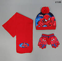 Набор Spiderman для мальчика. 50-54 см, фото 1