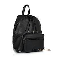 Рюкзак Virginia Conti VC8300black кожаный Черный