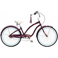 Велосипед женский ELECTRA Wren 3i Ladie aubergine 26
