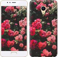 """Чехол на Meizu M5s Куст с розами """"2729u-776-5948"""""""