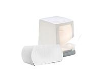 Салфетка для настольного диспенсера, Point, белая, 1 сл, 1500шт/уп, целлюлоза