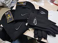 Комплект: шапка + перчатки NIKE