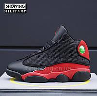 Кроссовки Nike Air Jordan 13 Black Red мужские черные с красным Коробка  Оригинал cf0ac77783d