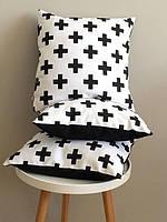 Интерьерные подушки 3 шт. (30*30см съемная наволочки )